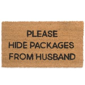 Other - Large Doormat Please Hide Packages From Husband